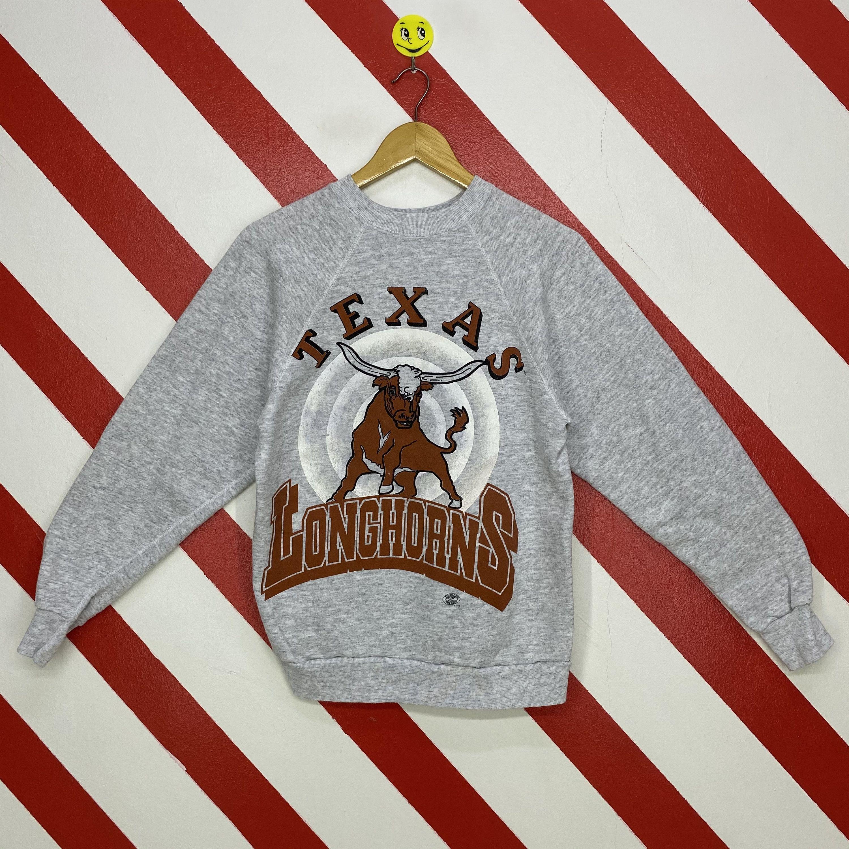 Vintage 90s Texas Longhorns Sweatshirt Texas Longhorns Etsy Long Sleeve Tshirt Men 90s Sportswear Sweatshirts [ 3000 x 3000 Pixel ]