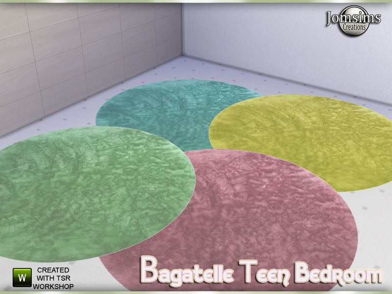 Bagatelle Round Rug In 4 Colors Found Tsr Category Sims