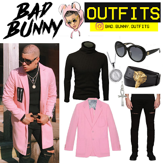 Bad Bunny Outfits: Bad Bunny Outfits (inspirado) | Trap