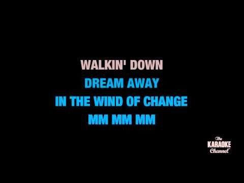 Wind Of Change In The Style Of Scorpions Karaoke Video With Lyrics No Lead Vocal Karaoke Wind Of Change Lyrics