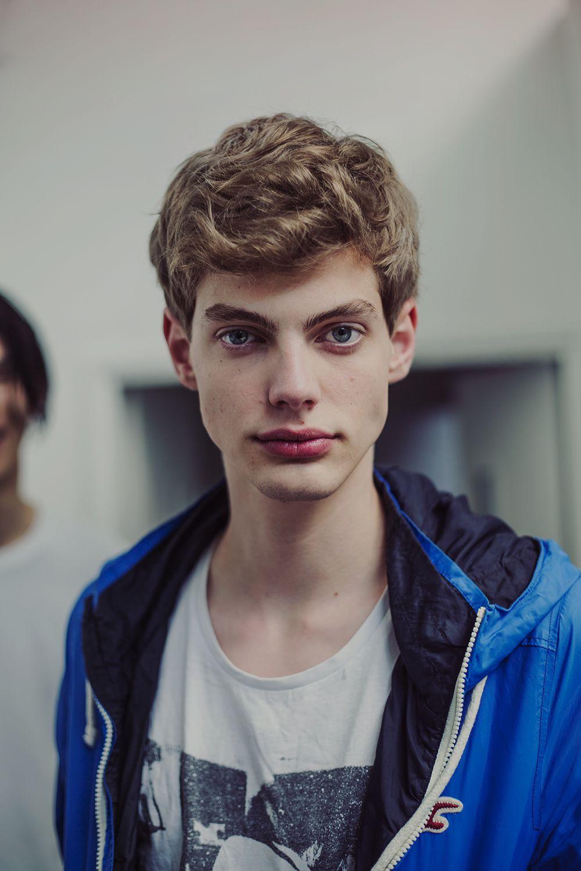 simple handsome boy