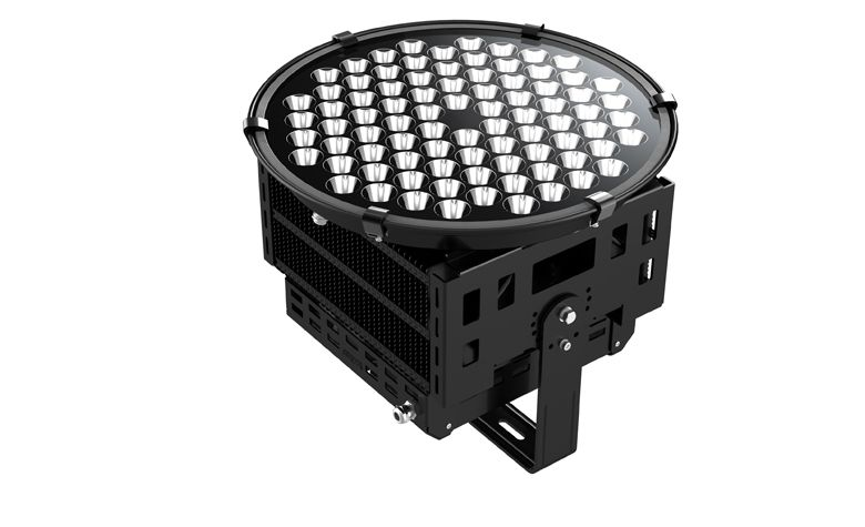 Led Projection Lighting 500w 5 10 50000lm Ip65 Cree Lm80 Osleder Lighting Light Project Led Led Flood Lights