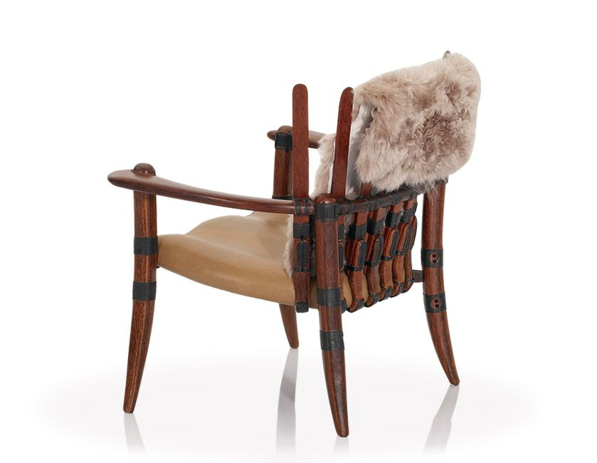 Mendi Arm Chair. Sustainable furniture.