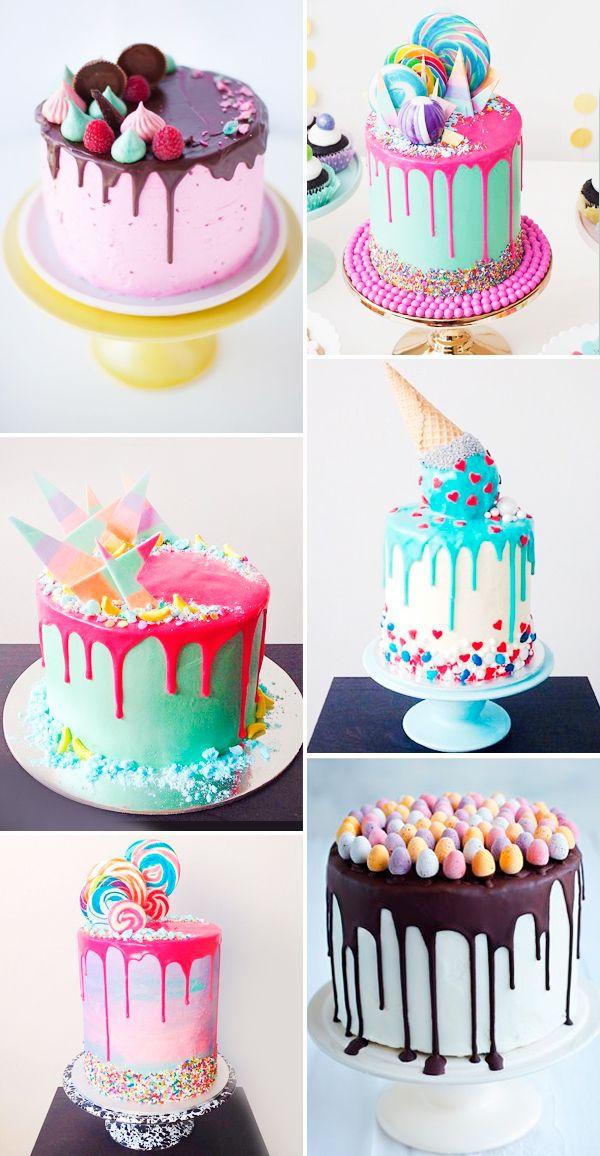 12 Drip Cakes Para A Festa Infantil Constance Zahn Kuchen
