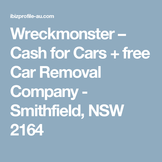 Junk Your Car In Sydney With Wreck Monster No Matter If Your Car