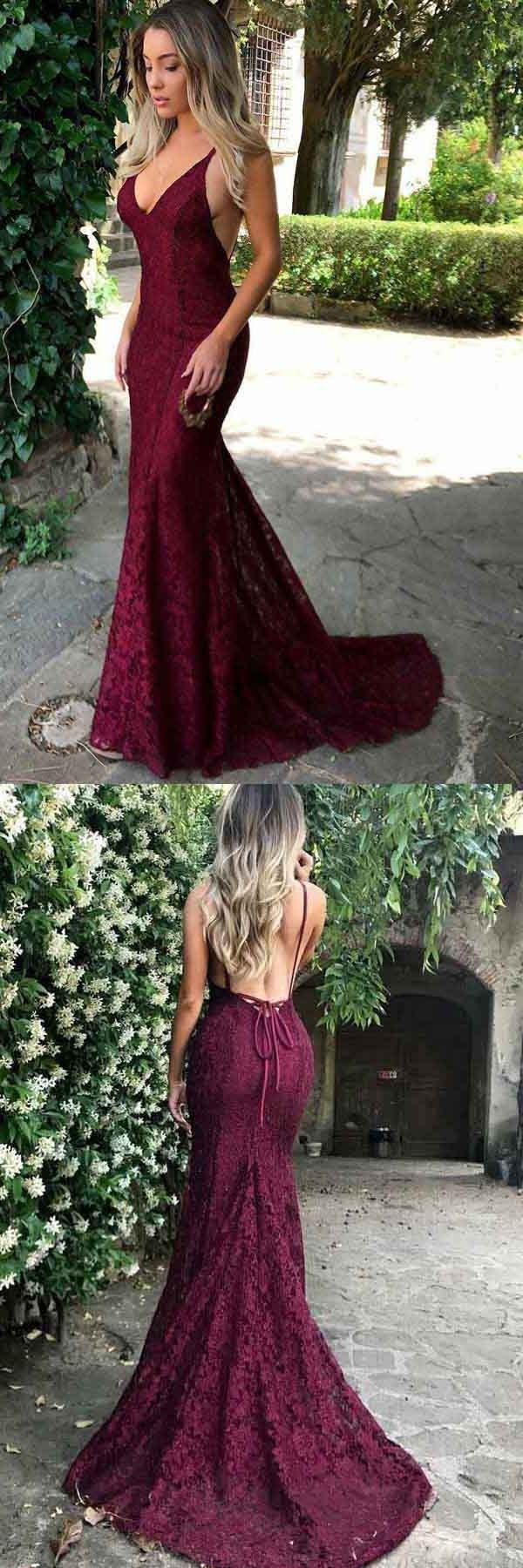 Outlet delightful prom dresses backless mermaid spaghetti straps