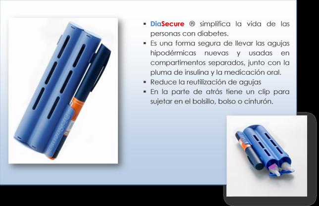 agujas usadas para la diabetes