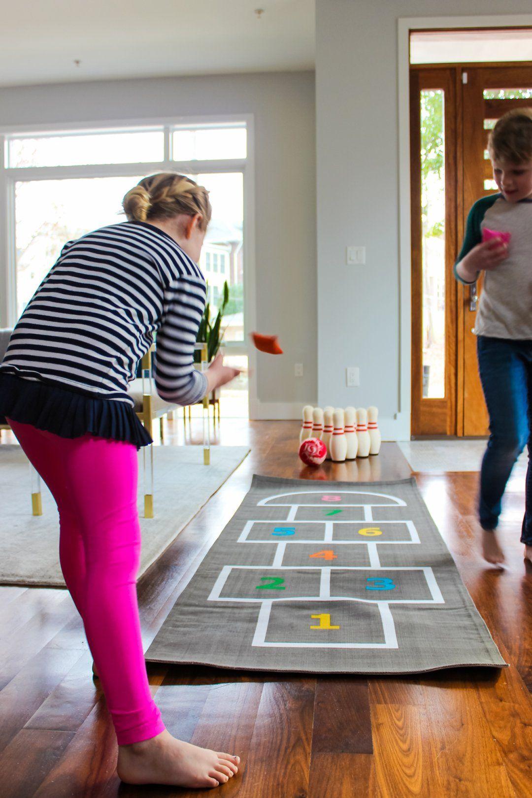 Exceptionnel Shop Livingroom Lanes Bowling Set   Land Of Nod Games U0026 Puzzles   Kids U0026  Baby Furniture, Bedding And Toys, Hop, Skip And A Jump Playmat   Land Of  Nod Games ...