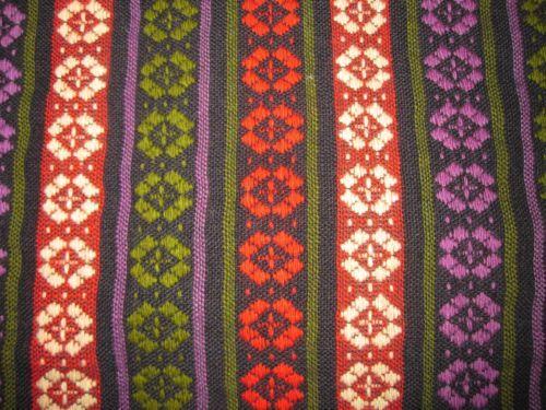 Zemgales Handwoven Wool Fabric for Latvian Women\'s Folk Costume ...