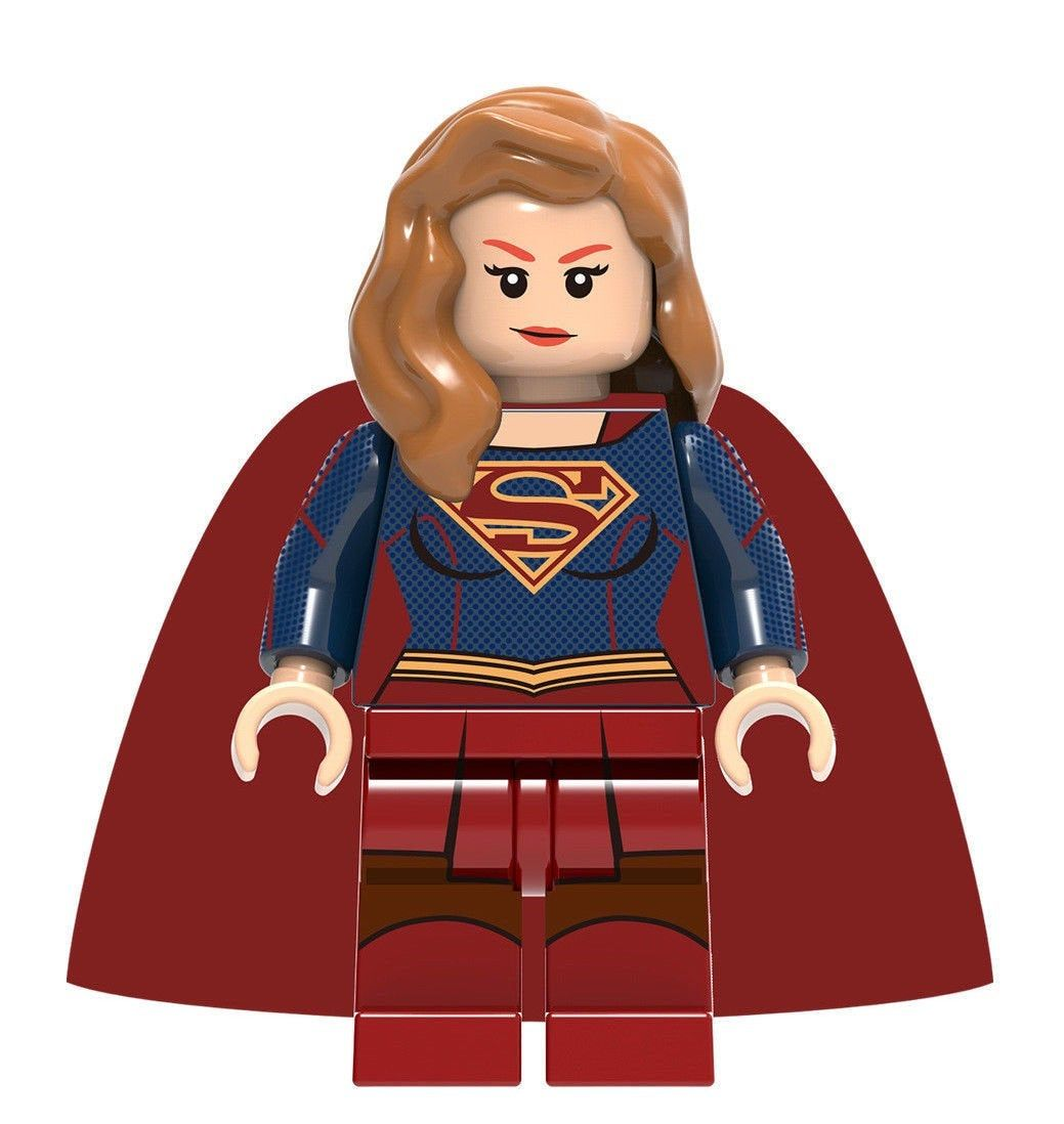 Batman Mini Figures  UK Seller Fits Lego Wing Black Red