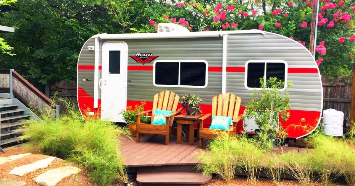 Campers to Travel in Style - Retro Trailer Design