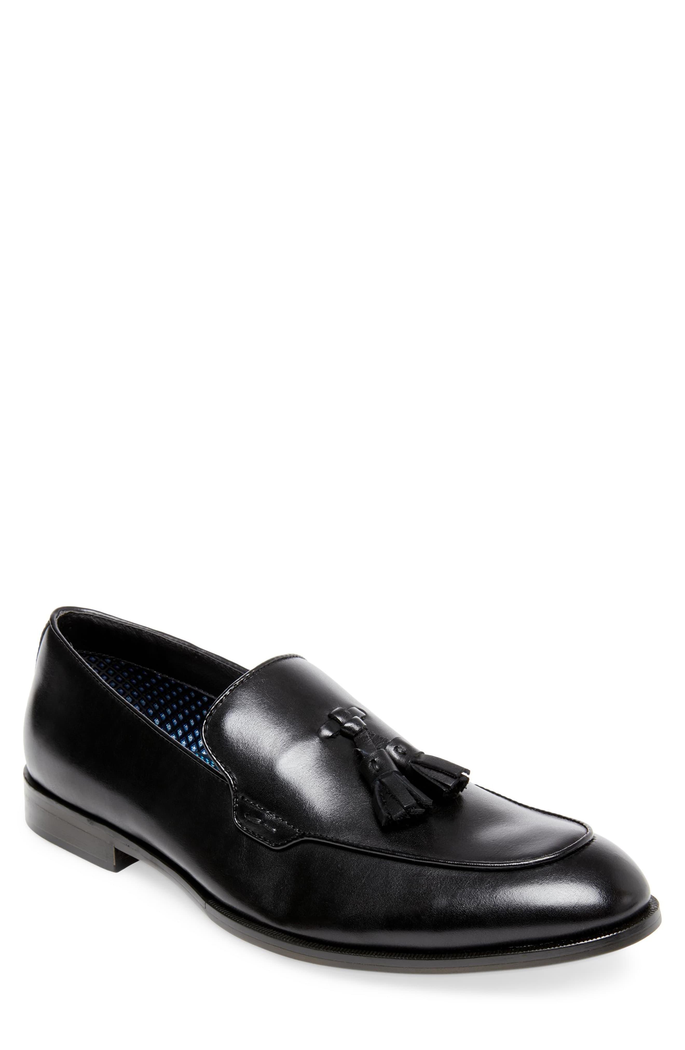 3347b1af200 Men's Steve Madden Emeree Tassel Loafer, Size 7 M - Black   Men shoe ...