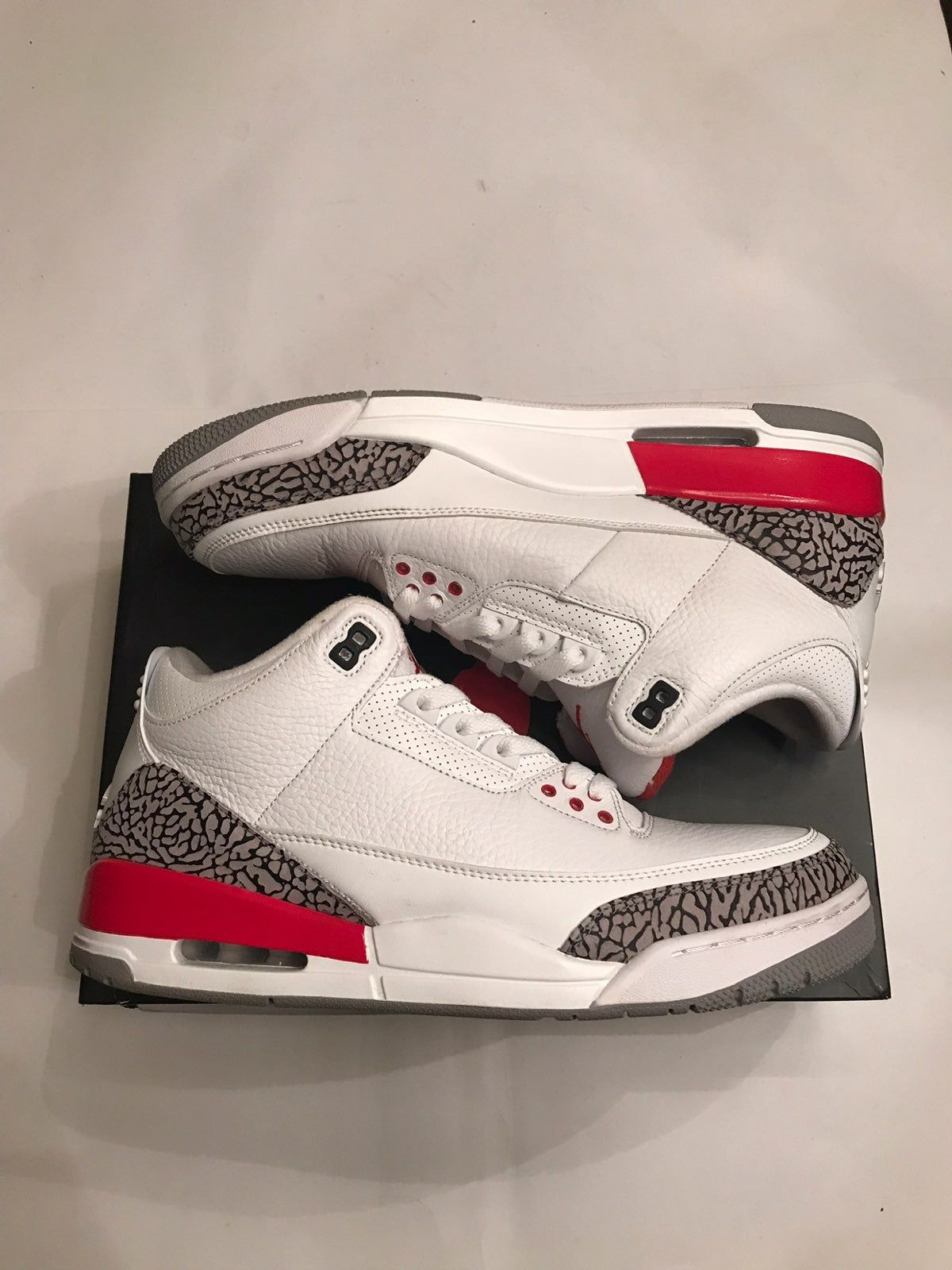 Used Jordan 3 hall of fame size 12. Shoes come with the original ...