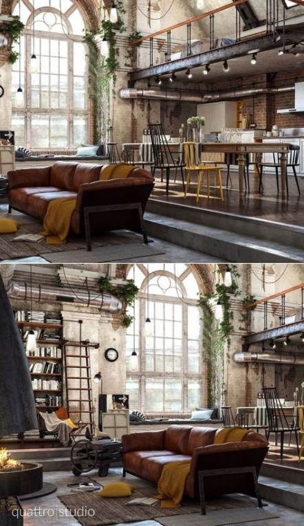 Idea By Meghan Spencer On Future Home Loft Design Home Interior Design Interior Design