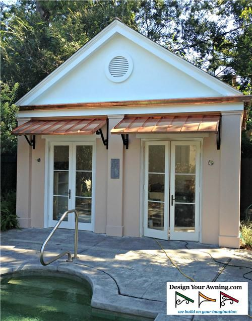 The Classic Copper Awning House Pinterest