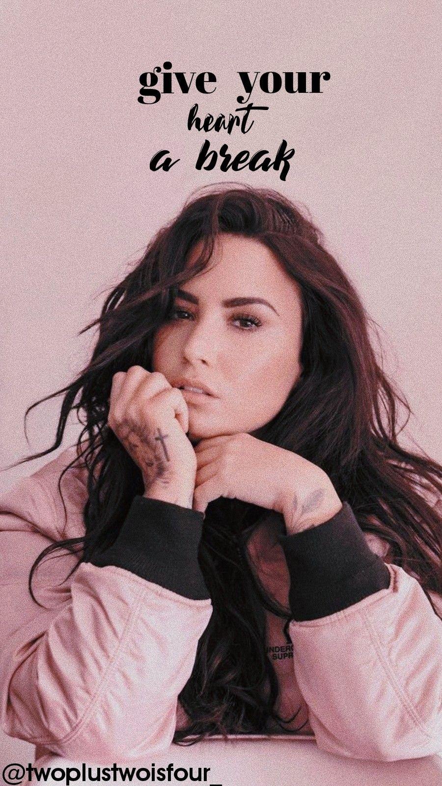 Demi Lovato Wallpaper Demilovato Lovatics Aestheticswallpaper Aesthetic Demi Lovato Lovato Light Wall Art