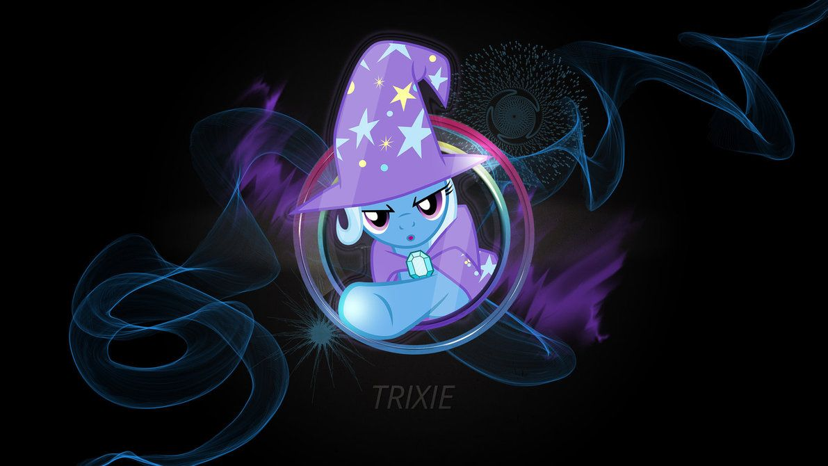 Trixie Duo Neon Wallpaper by ThundyR on DeviantArt Neon
