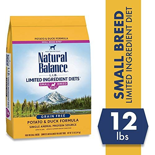 Natural Balance Limited Ingredient Diets Potato  Duck Formula Dry Dog Food for Small Bre