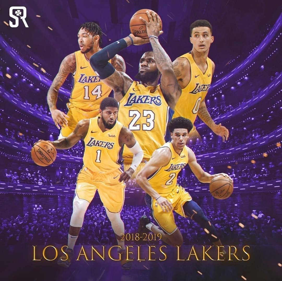 ce9c2da67c5 Lakers 2018 19  Me falta algo... . Foto   seandreilly  LosAngeles  Lakers   LeBron  George  Kuzma  Ingram  LonzoBall