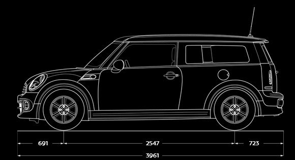 blueprint dimensions all things mini pinterest mini clubman mini cooper clubman and mini. Black Bedroom Furniture Sets. Home Design Ideas