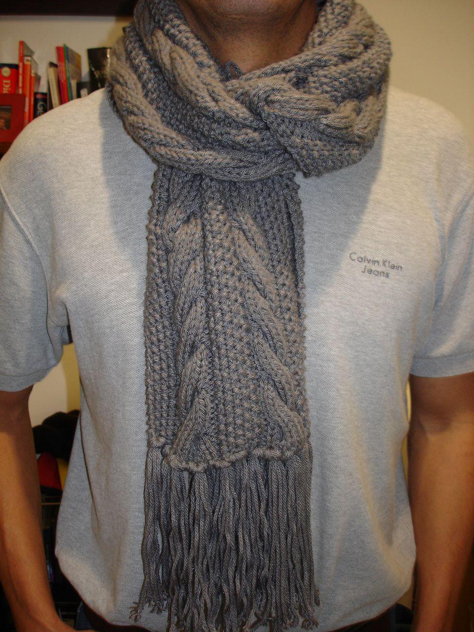 bufandas tejidas con agujas , Buscar con Google