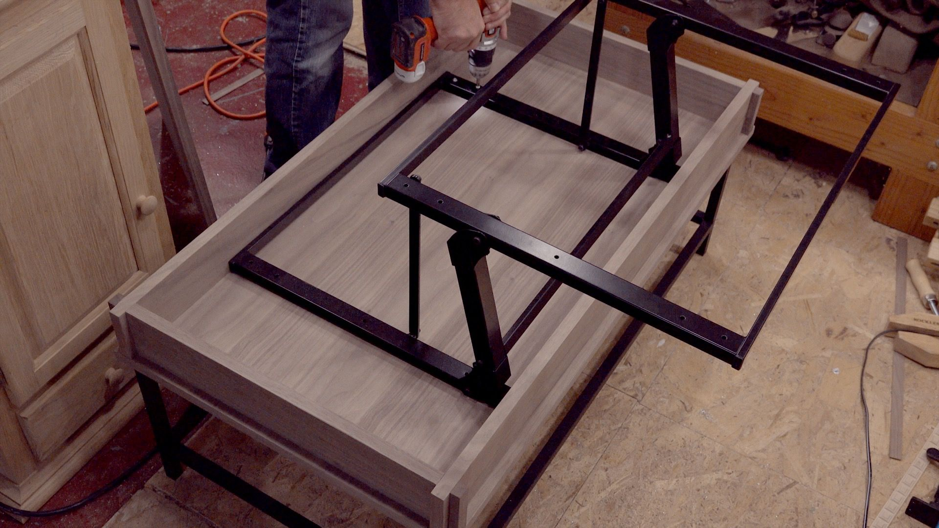 How to Make a Coffee Table with Lift Top Easy woodworking projects