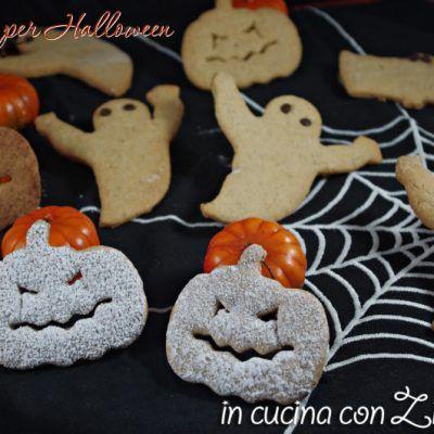 Biscotti zucche fantasmi - festa Halloween - In cucina con Zia Ralù ...