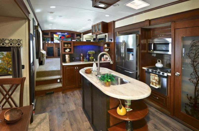 Kitchen Islands Rv Outside Kitchen Models Camper Expandable Travel Trailers With Outdoor Kitchens To Trailer Gray I Kitchen Models Outdoor Kitchen Small Living