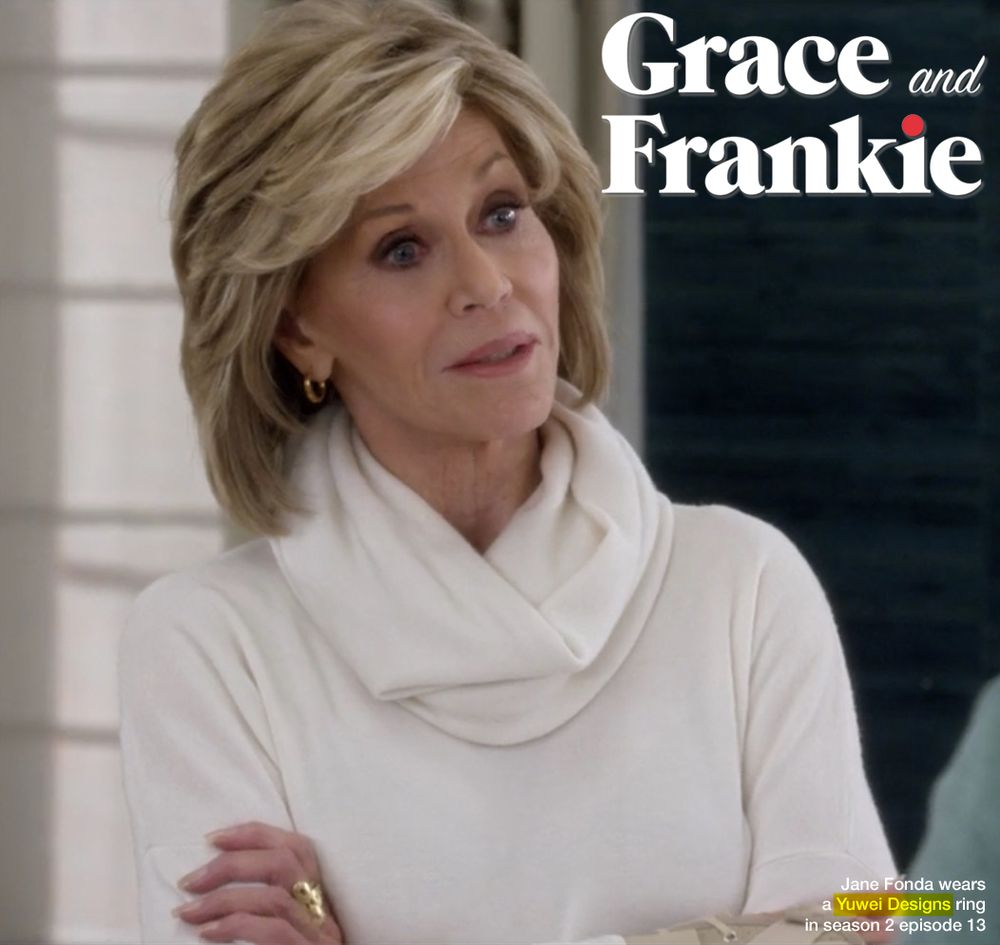 image result for jane fonda's hair in frankie and gracie | 2