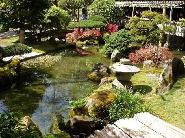 Japanischer Garten Teich Steine Gartenstile Beispiele