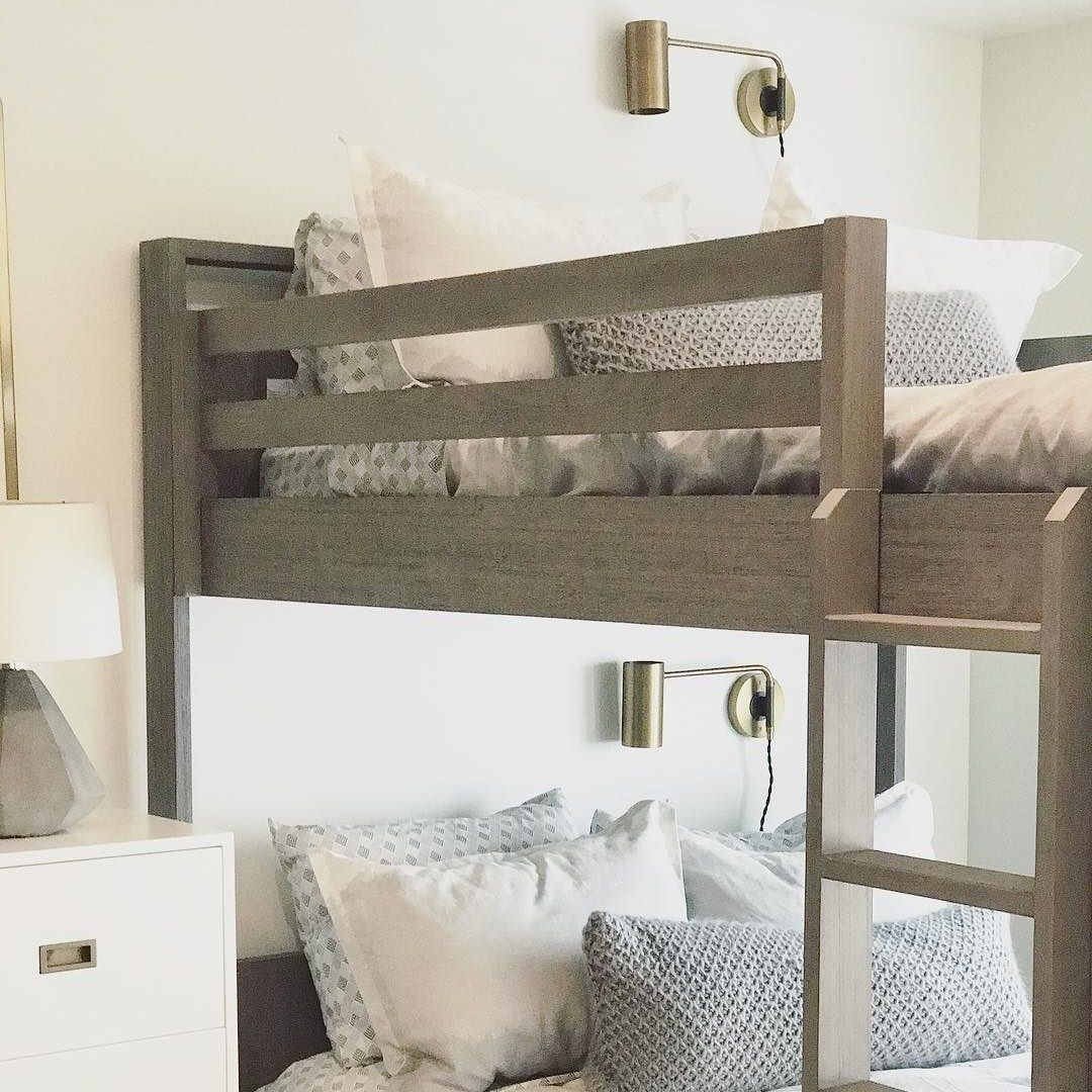 Under loft bed lighting ideas  I always wanted the section of my bunk bed to have its own little