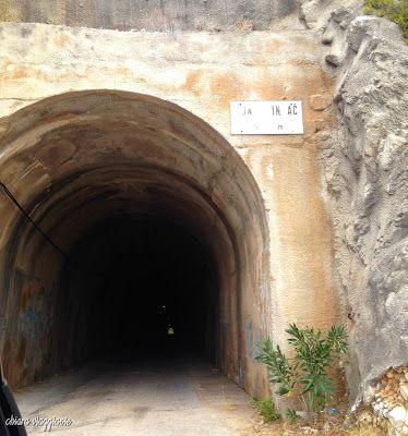 Penisola di Peljesac - tunnel Dingac