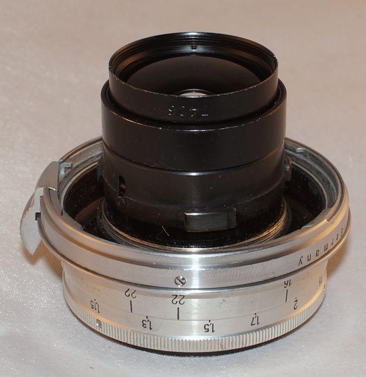 Carl Zeiss Jena Biogon f2 8 3 5cm 35mm Ret T Post War Lens