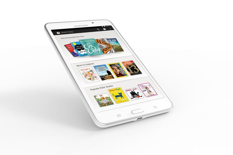 Samsung S First Nook Tablet Arrives At Barnes Noble Today For