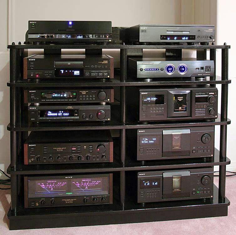 sony vintage audio audiophile heaven pinterest sony. Black Bedroom Furniture Sets. Home Design Ideas