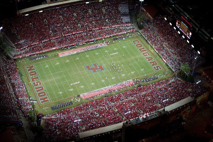 Robertson Stadium University Of Houston Athletics Uh Cougars Official Athletic Site University Of Houston University Of Utah Football Football Stadiums