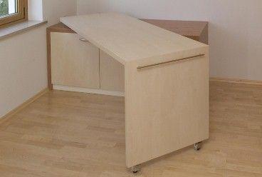 Individueller Schreibtisch - Pfiffige Lösung
