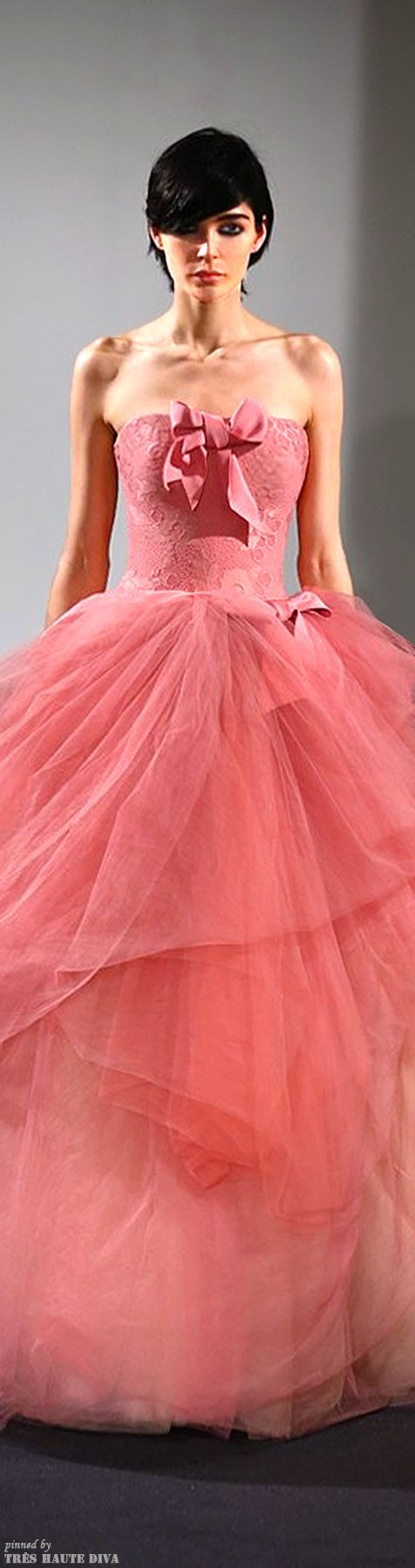 Vera Wang Bridal Fall 2014 ♔ Très Haute Diva ♔ | DISPLAY PINK ...