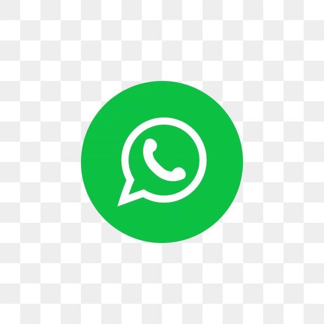 Modelo De Design Do ícone De Mídia Social Whatsapp, Icon