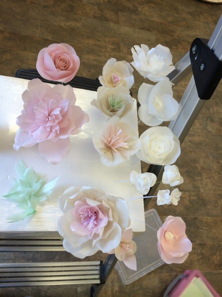 Wafer Paper Flowers And Other Related Things Kitchen Creations