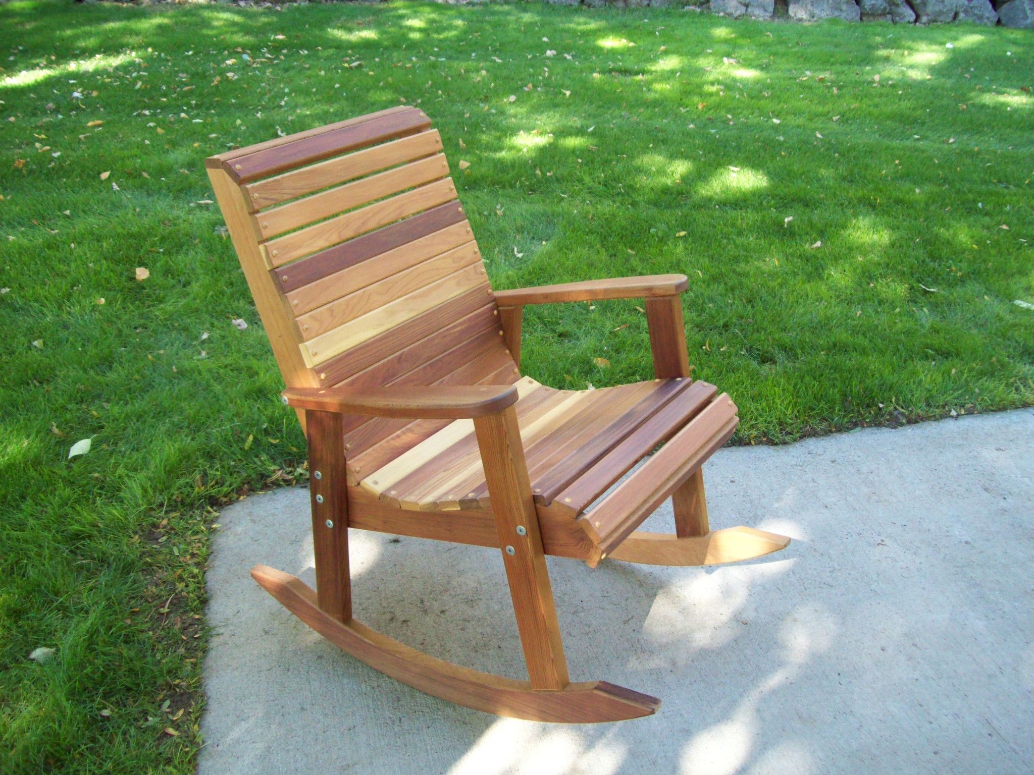 Free Rocking Chair Plans Wood Country T L Red Cedar Rocking Chair Deck Wooden Rocking