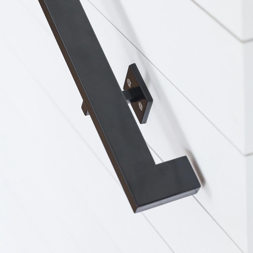 Best Modern Handrail 9 10 Foot 4 Brackets Wall Railing 400 x 300