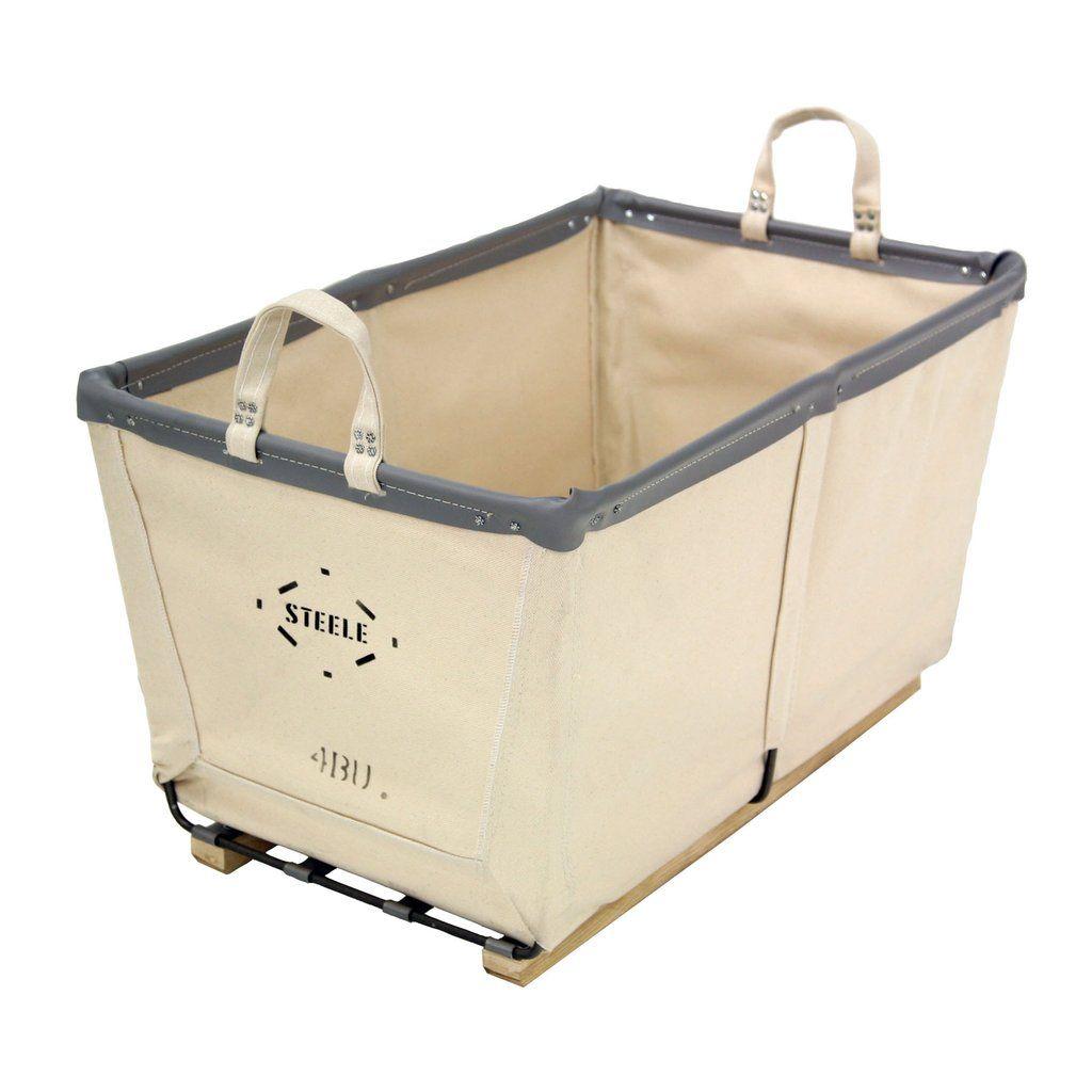 Canvas Small Carry Basket 4 Bu Canvas Laundry Hamper Basket