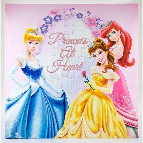 Disney Princess 14 Canvas Wall Art By Disney 19 70 Recommended Age 6 8 Years This Disney Pr Disney Princess Nursery Princess Wall Art Princess Canvas