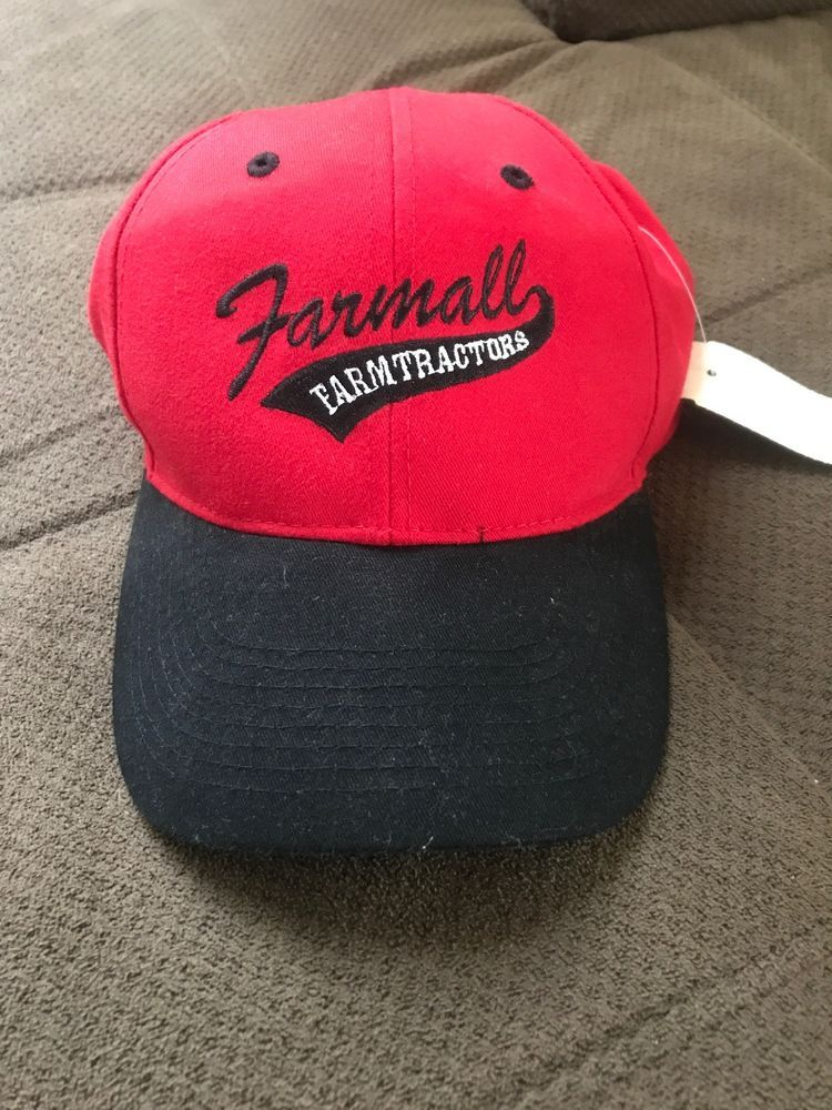 Farmall Farm Tractors buckle back hat  fashion  clothing  shoes   accessories  mensaccessories  hats (ebay link) 1877793dc022