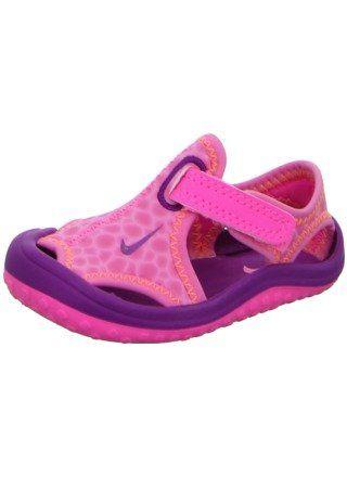 42239b182 New Nike Baby Girl s Sunray Protect Sandal Pink Pow Total Orange 9 ...