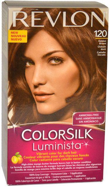Women Revlon Colorsilk Luminista 120 Golden Brown Hair Color