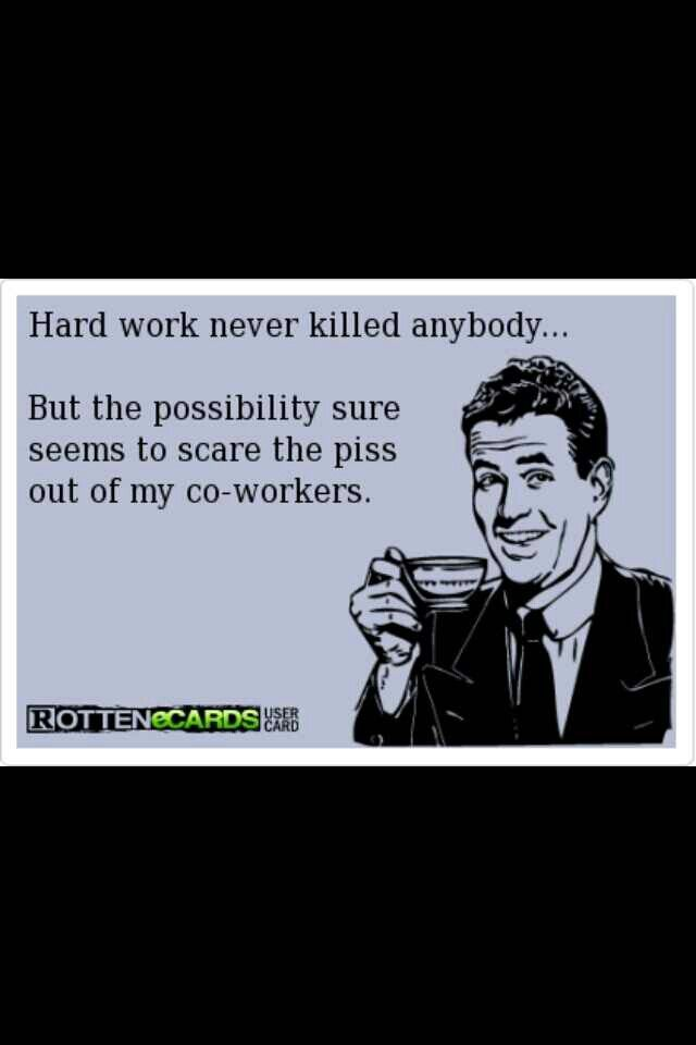To All My Horrible Mean Back Stabbing Coworkers You Will One Day