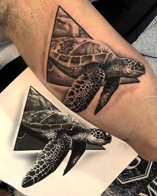 Schildpad Tattoo Betekenis En 30x Tattoo Inspiratie
