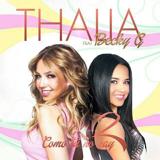 Beckeyg Thalia Comotunohaydos Thalia Singer Becky G